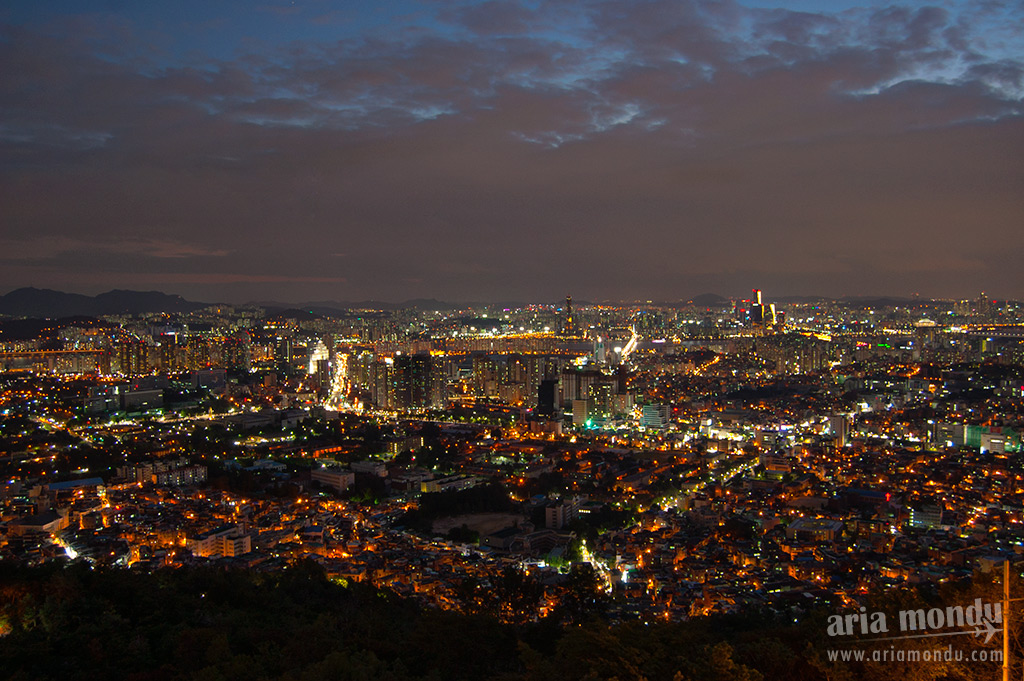 Vue sur Yongsan Gu