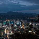 Vue sur Myeongdong