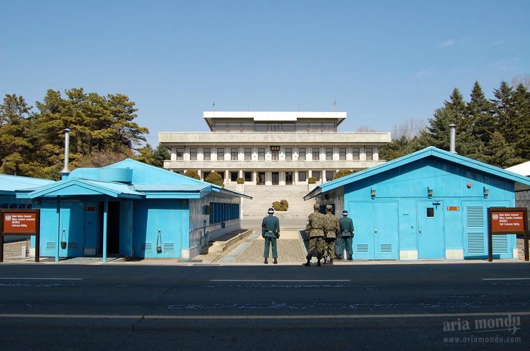 La DMZ, pour flirt avec la Corée du Nord